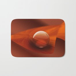 Orange Ball Bath Mat