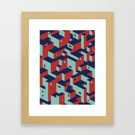 Favela Framed Art Print