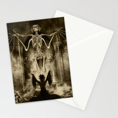 Dark Victorian Portrait Series: Lady Charlotte Nightshade, Her Majesty's Necromancer Stationery Cards