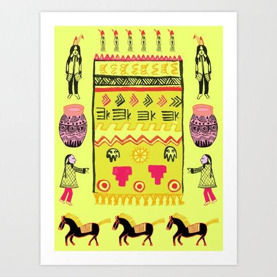 Plains Art Print