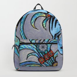 Alien Maya Elf by Alexandra Cook aka Linandara Backpack
