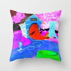 Eleghant Throw Pillow