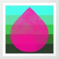 flourish 2 Art Print