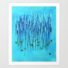 :: Blue Martini :: Art Print