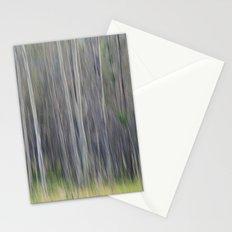 Birch Blurs Stationery Cards