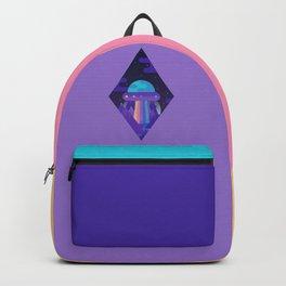 ROYGBIV Flying-Saucer Backpack