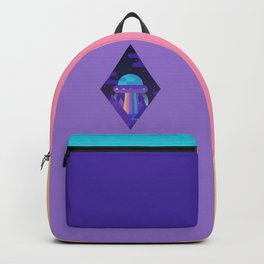 ROYGBIV Flying-Saucer Backpack