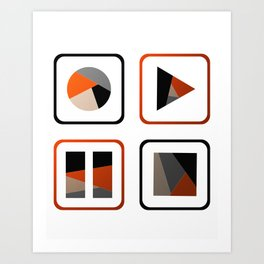 In Control Art Print