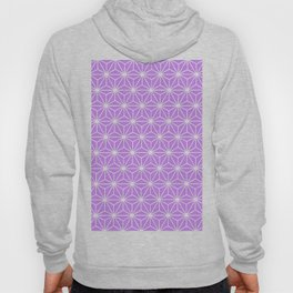 Mauve Flowers and Florals Isosceles Triangle Hoody