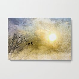 New Day Yesterday Metal Print