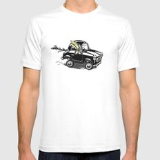 Pendrive Mens Fitted Tee White MEDIUM