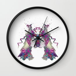 Inkdala XXII - Ink Blot Wall Clock