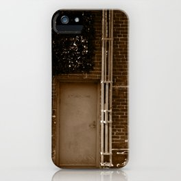 Electrical room. iPhone Case