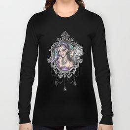Esmeralda gipsy tattoo flash Long Sleeve T-shirt