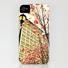 street blossoms iPhone (4, 4s) Slim Case