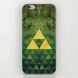 Link Geometry iPhone Skin