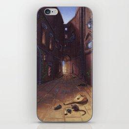 An Alley In Tarbean iPhone Skin