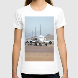 Busy Airport Lineup T-shirt