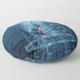Virtual Dreams Reloaded Floor Pillow