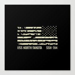 USS North Dakota Canvas Print