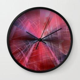 illusory city life -09- Wall Clock