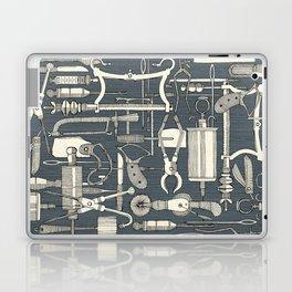 fiendish incisions metal Laptop & iPad Skin