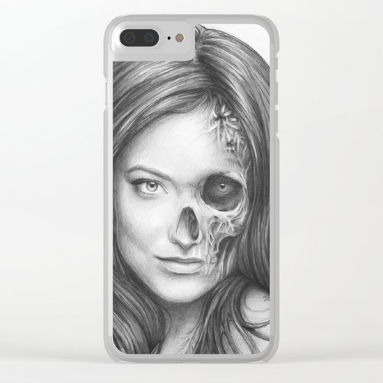 Thirteen from House MD Clear iPhone Case