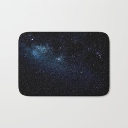 Star and Galaxy Bath Mat