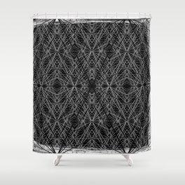 GS Geometric Abstrac 07AM Shower Curtain