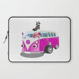 Cute pink bus Laptop Sleeve