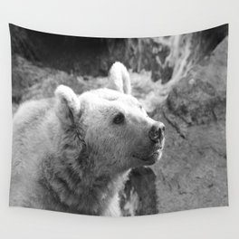 Syrian Brown Bear Portrait Wall Tapestry