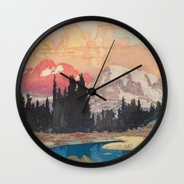 Storms over Keiisino Wall Clock
