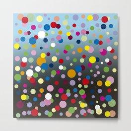 Multi-colored bubbles Metal Print