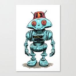 Little Robo Canvas Print