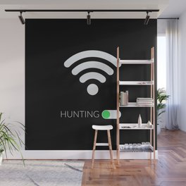 Wifi Hunting Wall Mural