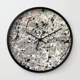 Toned Down #2 Wall Clock
