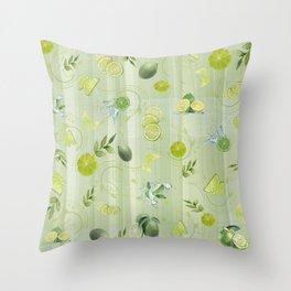 Freefall Lime Frenzy Throw Pillow