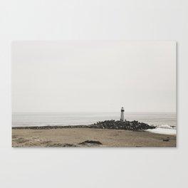 Santa Cruz Light House Canvas Print