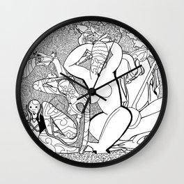Art Junk Wall Clock