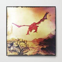 dragon attack Metal Print