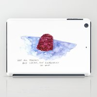 the cure iPad Cases featuring berry cure by The Tiny Fishbowl Collection