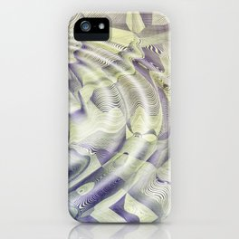Abstract Water Ripples iPhone Case