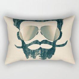 Nature Man Rectangular Pillow