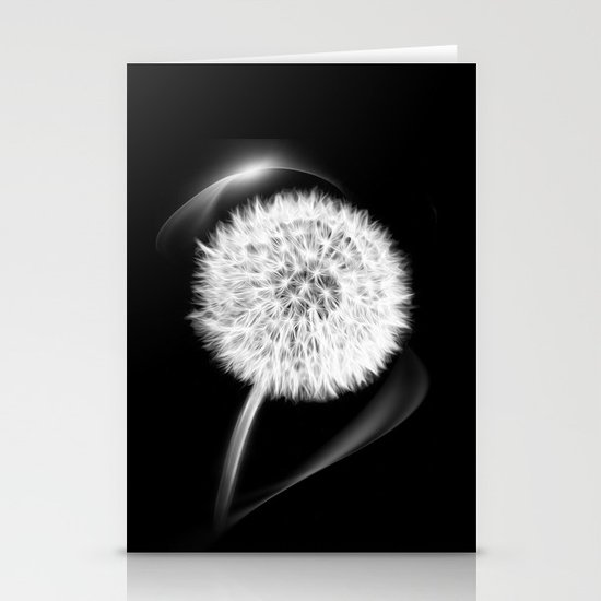 LIFE IN MONO - Dandelion Stationery Cards