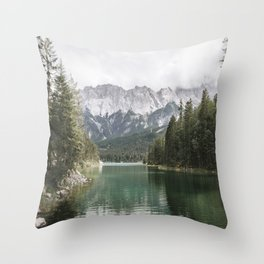Looks like Canada - landscape photography Throw Pillow
