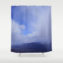 Winter day 10 Shower Curtain