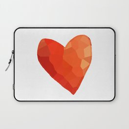 A Single Red Heart Laptop Sleeve