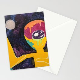Alien Takeover Stationery Cards