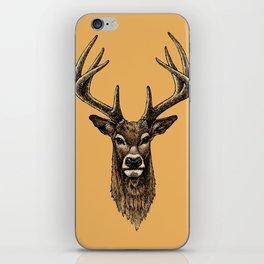 Golden Deer iPhone Skin
