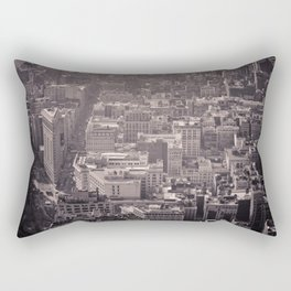 On the top of the World Rectangular Pillow